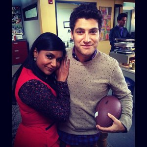 Mindy-Kaling-cuddled-Adam-Pally-set-Mindy-Project